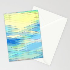 Re-Created Vertices No. 8 by Robert S. Lee Stationery Cards