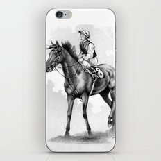 About To Play Up - Racehorse iPhone & iPod Skin
