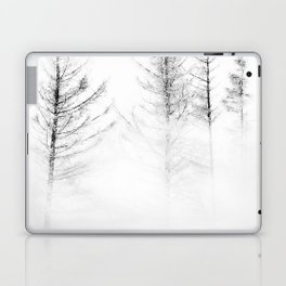 Snow covered trees Laptop & iPad Skin