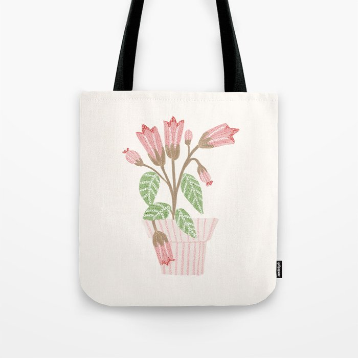 Flower In a Pot Tote Bag
