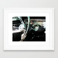 mustang Framed Art Prints featuring Mustang by Malcolm Cooper