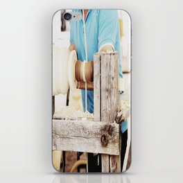 The artisan and the lathe iPhone Skin