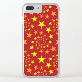 star stars pattern design Clear iPhone Case