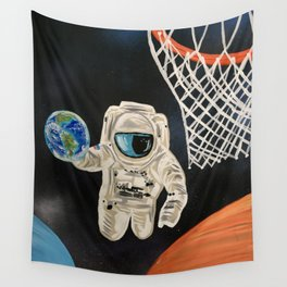 Space Games Wall Tapestry