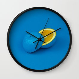 Blue Orange (Cody Davis) Wall Clock