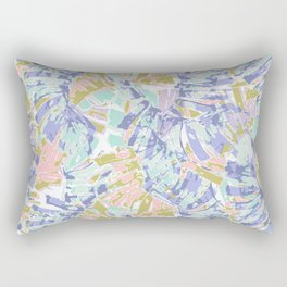 Pastel leafs Rectangular Pillow