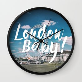 London Baby! Wall Clock