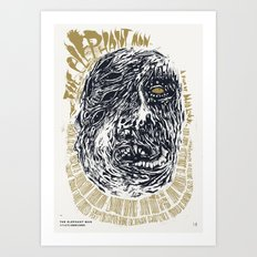 The Elephant Man / David Lynch Film Posters Art Print