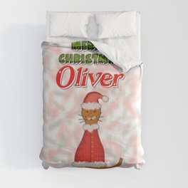 Merry Christmas Oliver Comforters