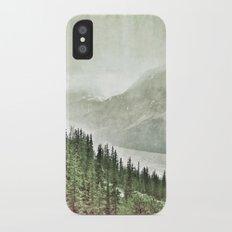 Banff National Park, Canada Slim Case iPhone X
