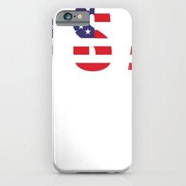 USA Patriotic American Flag Design iPhone Case
