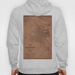 Map of Nantucket 1834 Hoody