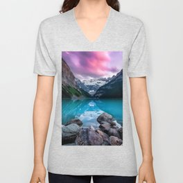 Lake Louise Unisex V-Neck