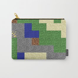 Pixel Craft Pattern Carry-All Pouch