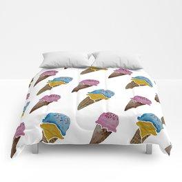 Ice Cream Watercolor Comforters