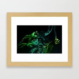 Forest of Horrors Framed Art Print
