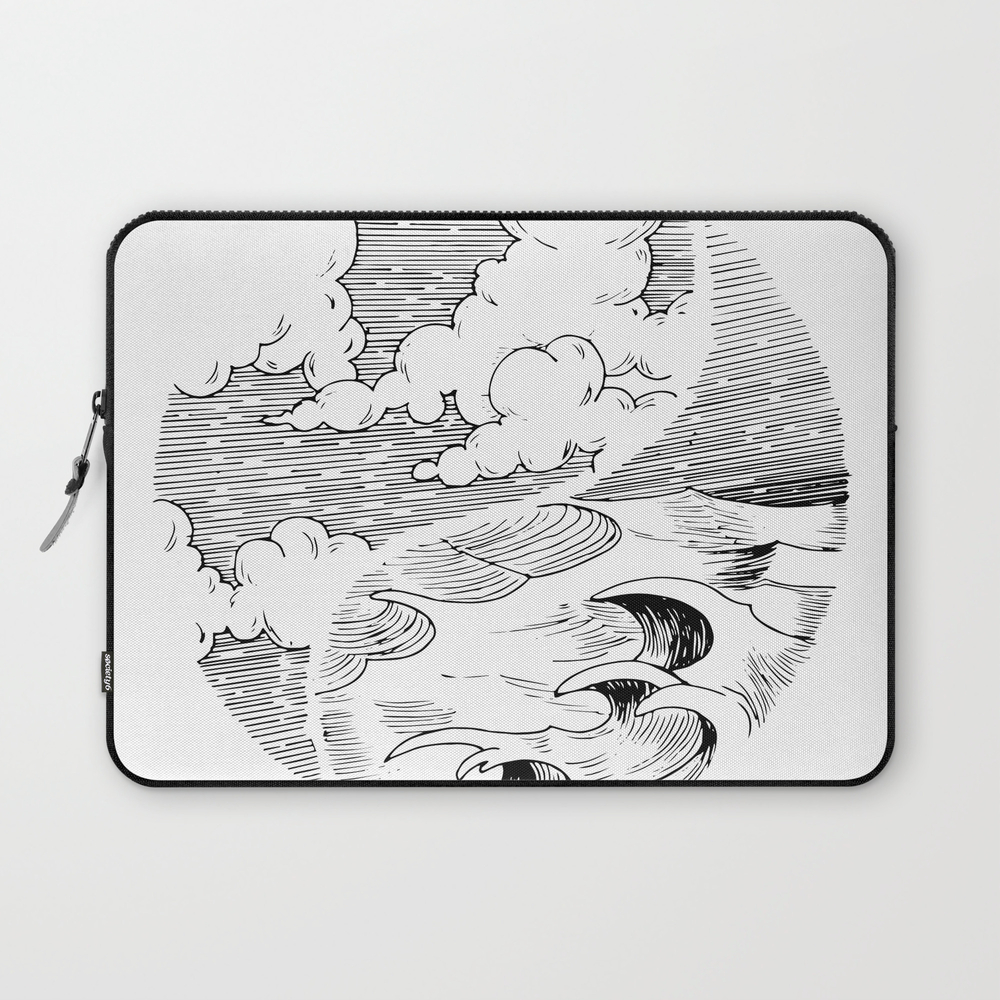 Storm In A Cup Laptop Sleeve LSV8492934