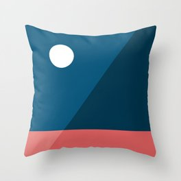 Geometric Landscape 06 Throw Pillow