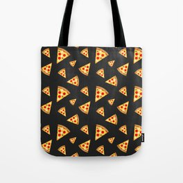 Cool and fun pizza slices pattern Tote Bag