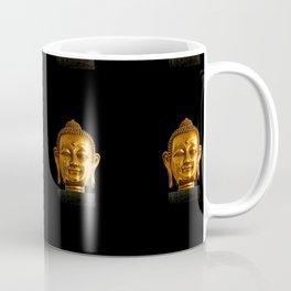 Budhha Golden Head by Lika Ramati Coffee Mug
