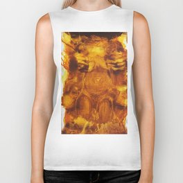Golden Girl Biker Tank