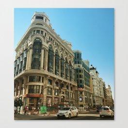 Centro, Madrid Canvas Print