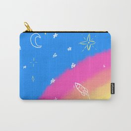 Rainbow Skies Carry-All Pouch