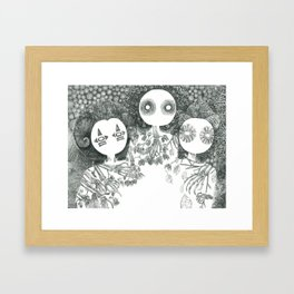 The Riddle Of Eyes (7/17) Framed Art Print