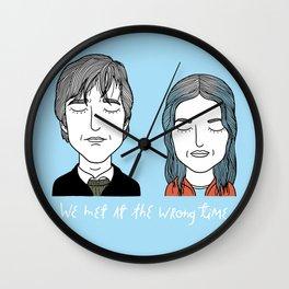 J & C Wall Clock