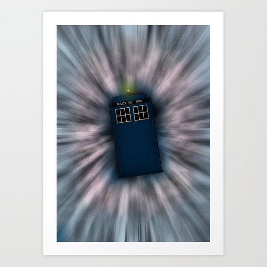 Doctor Who - Call me a Doctor..... Allons-y! Art Print