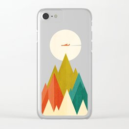 Life is a travel Clear iPhone Case