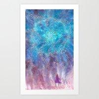 Aligning to Divine Energies  Art Print