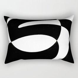 positive&negative Rectangular Pillow