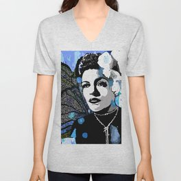 Billie Holiday  Unisex V-Neck