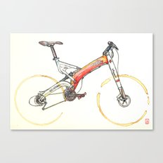 Coffee Wheels #07 Canvas Print