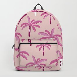 Sweet candy summer palm trees pattern Backpack