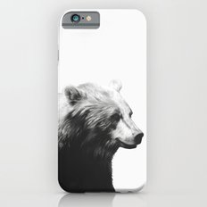 Bear // Calm (Black + White) Slim Case iPhone 6s