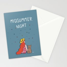 A MIDSUMMER NIGHT Stationery Cards