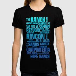 Santa Barbara Beaches T-shirt