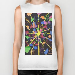 On edge #2 #watercolor #art #society6 Biker Tank