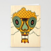 balloon Stationery Cards featuring Balloon by Johan Brosow