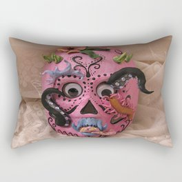 hurricane mask Rectangular Pillow