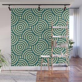 Seamless Circle Pattern Wall Mural