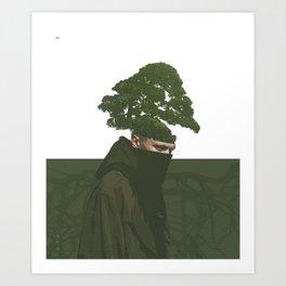enraizado Art Print