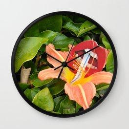 Flower juice Wall Clock