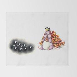 Boh and Sooties Halloween Throw Blanket