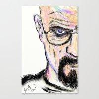 breaking Canvas Prints featuring Breaking by Taste of Ink Designs