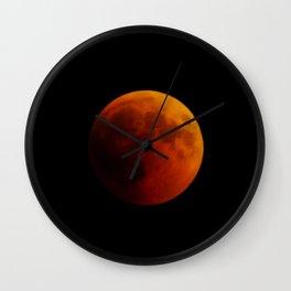 Moon eclipse 2018 Wall Clock