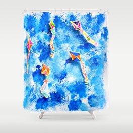 FREE SPiRiT KiTES | Fashion Kids Shower Curtain