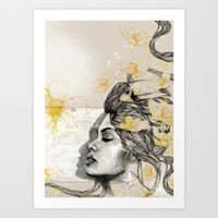 Art Print featuring Dreams of Ipanema by Podessto